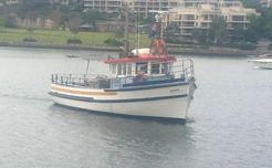 1964 Custom Trawler 45' Charter