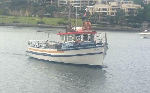 1964 Custom Trawler