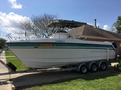 1997 Glacier Bay 260 Canyon Runner