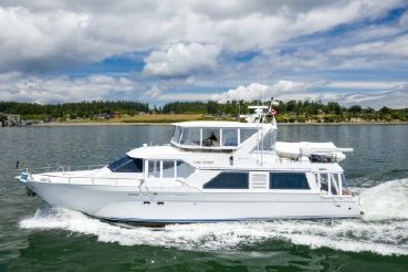 1996 Queenship Pilothouse