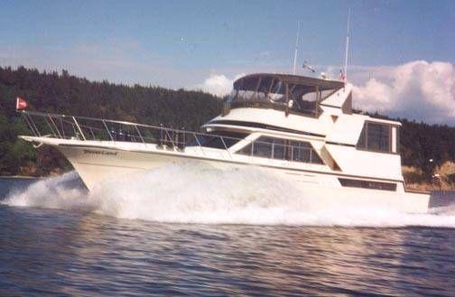 1989 Californian Cockpit Motoryacht