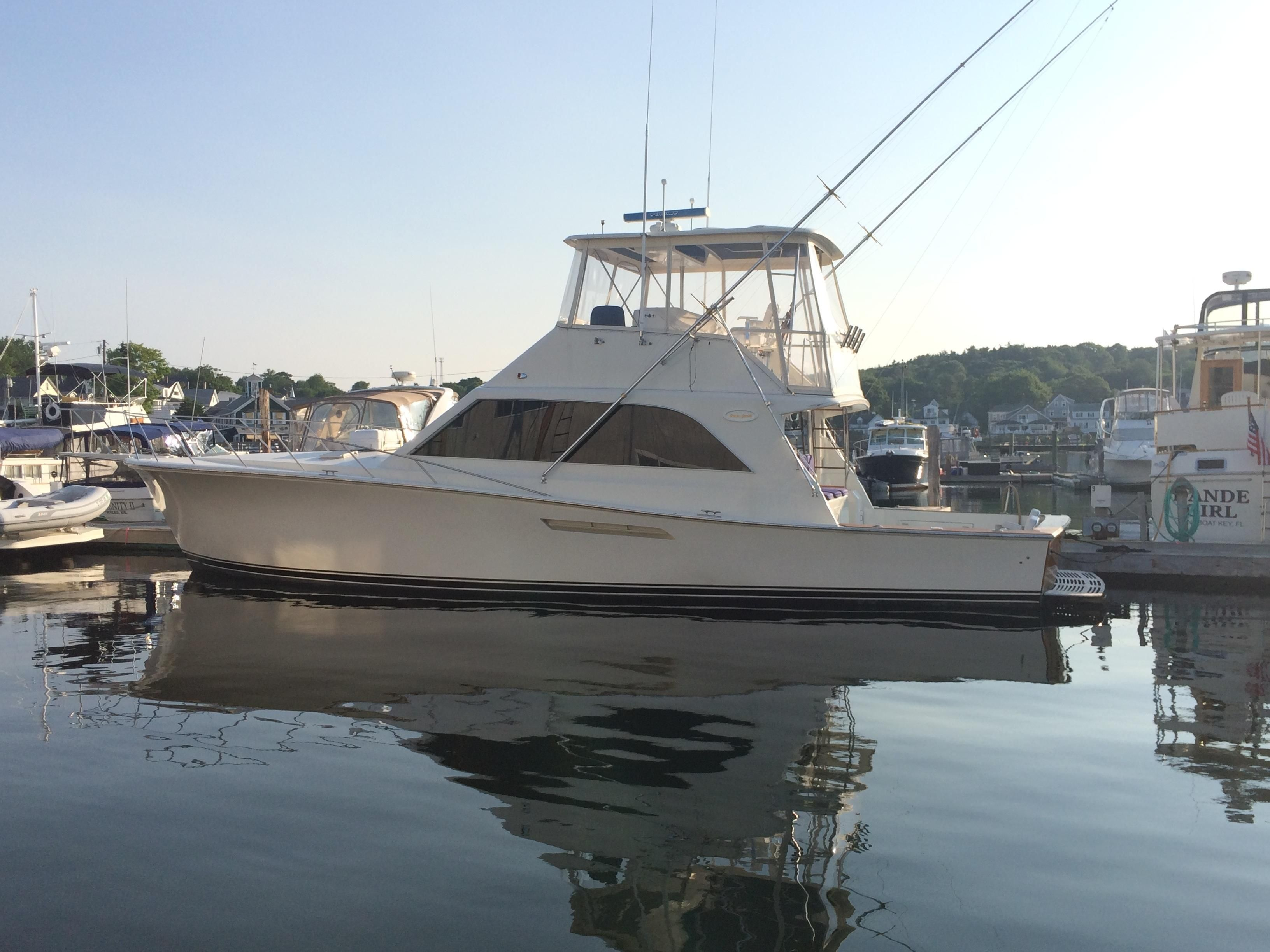 1989 ocean yachts super sport power boat for sale www for Boat motor repair near me