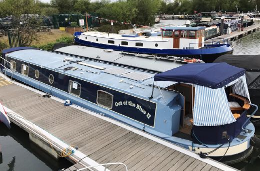 2010 Metrofloat Richmond 60' x 11' Widebeam Canalboat