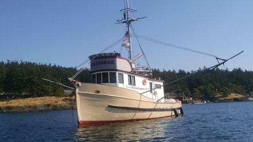 1917 Custom Converted Fishing Trawler