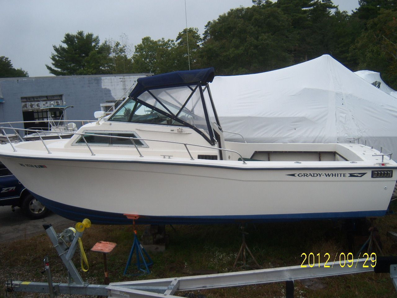 25 ft 1981 grady-white wahoo 25  rare model
