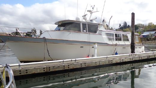 1977 Delta Marine Long Range Cruiser