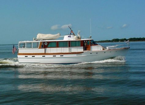 1973 Trumpy - Very Last Ever Built Houseboat