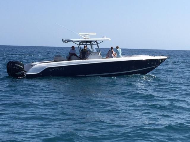 Donzi 38 ZFX Sportfishing boat for sale in Newport Beach