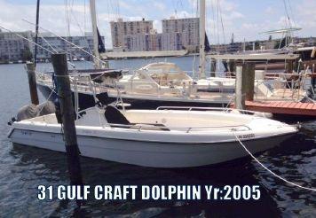 2005 Gulf Craft Dolphin 31