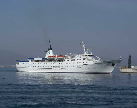 1972 Classic Small Cruise Ship, 300 Passengers -Stock No. S2133
