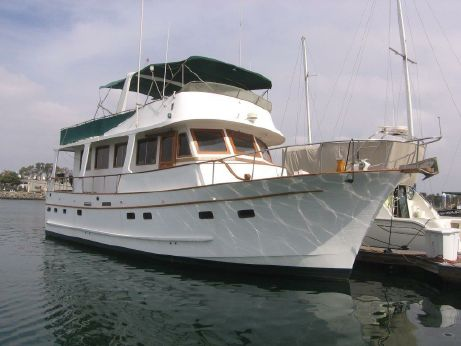 1982 Marine Trader Pilothouse