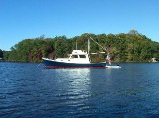 1984 Carroll Lowell 38 LX Downeast Lobster Boat