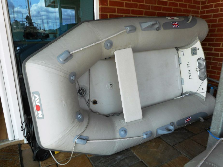 2007 Avon Rover 260 Air Inflatable Power Boat For Sale - www