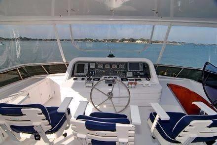 photo of 82' Monte Fino Cockpit MY