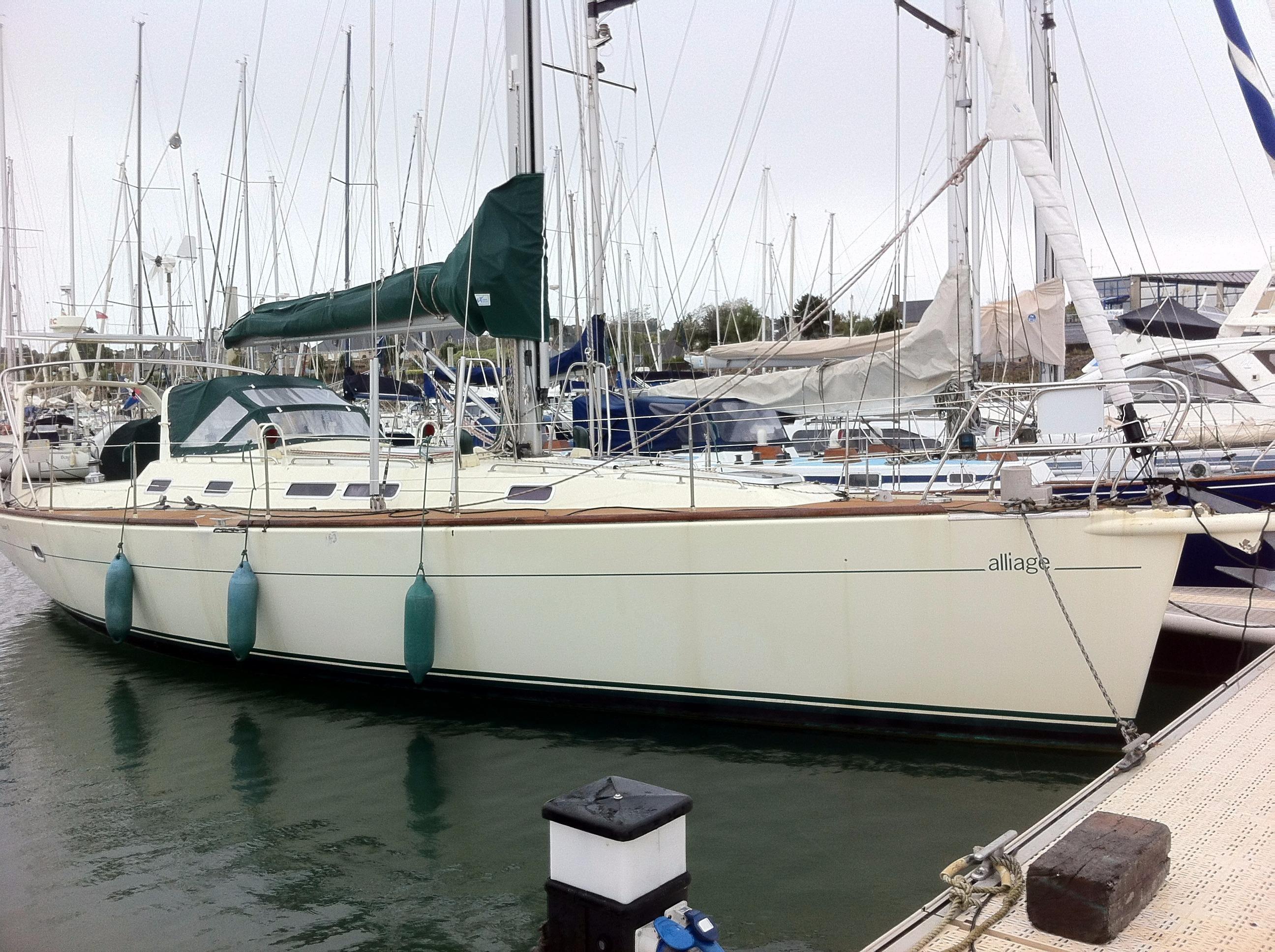 2003 alliage 44 voilier bateau vendre. Black Bedroom Furniture Sets. Home Design Ideas