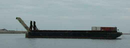 1977 Bin Wall Barge With Ramp - DWT 2000