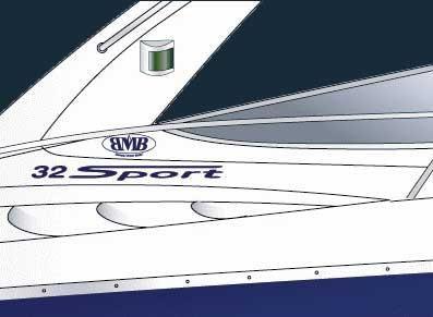 2003 Bavaria Motor Boats BMB 32 Sport