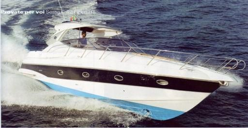 2007 Sessa Marine SESSA C42 HARD TOP