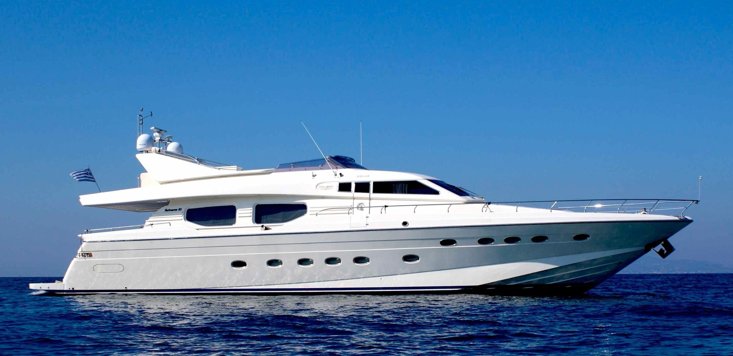 2000 posillipo technema 80 power boat for sale www for Large motor yachts for sale