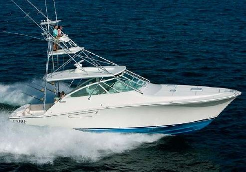 2015 Cabo Yachts 52 Express