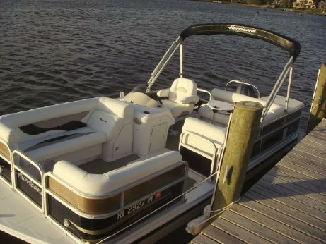 2012 Hurricane FunDeck 196