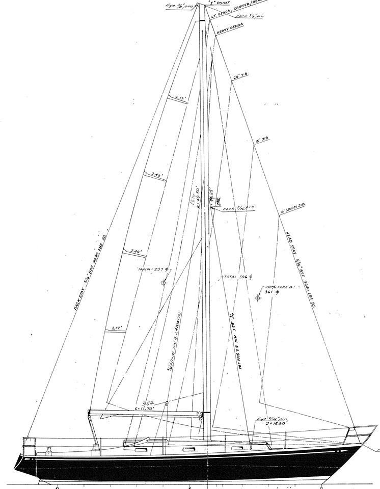 1970 Nautor Swan 37 Sail Boat For Sale