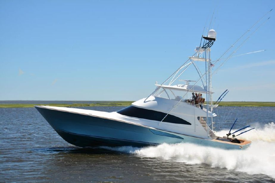 2018 Viking 72 Convertible Power Boat For Sale