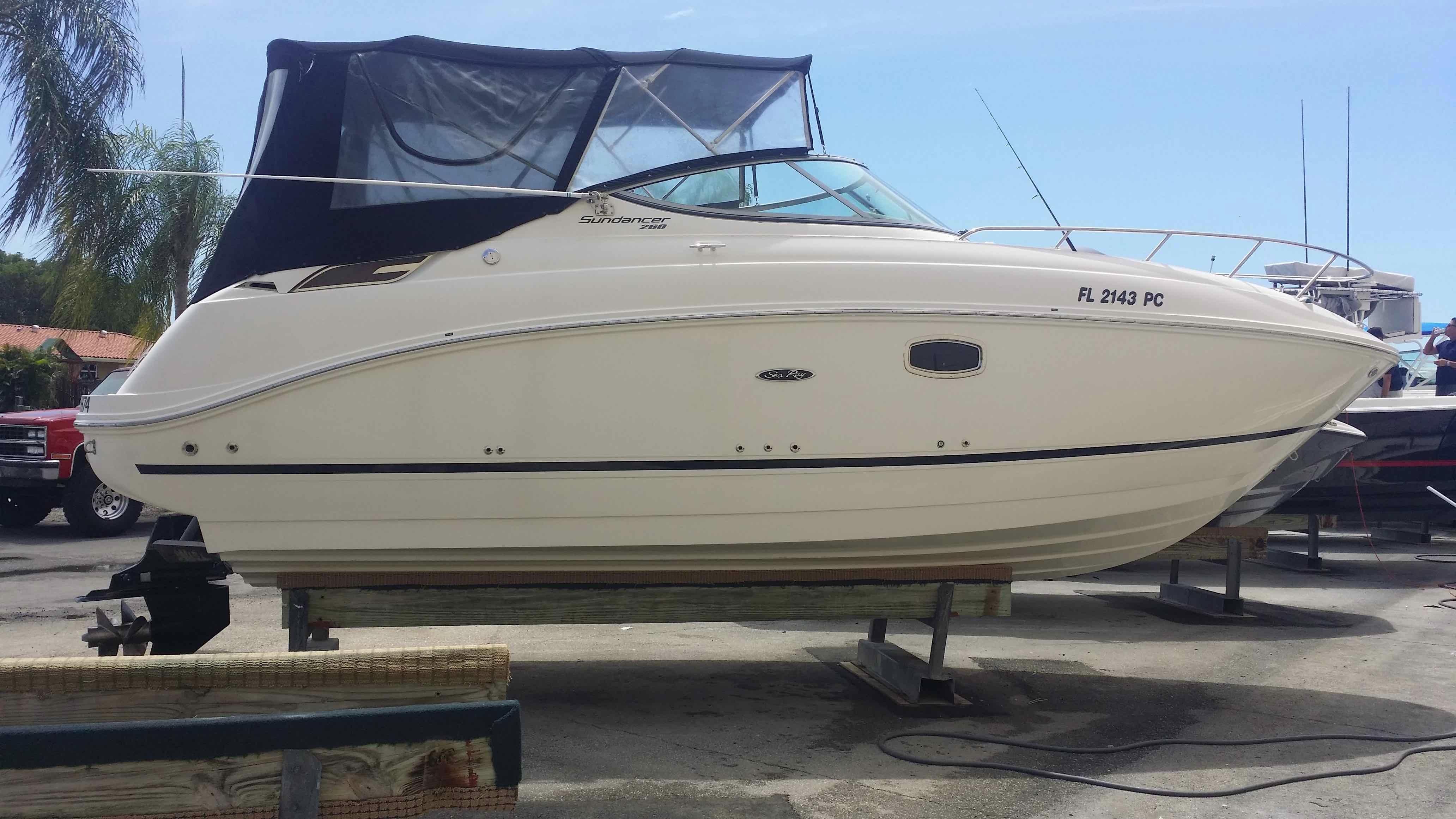 2010 Sea Ray 260 Sundancer Power Boat For Sale Www