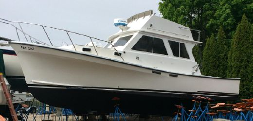 1986 J C FLYBRIDGE DOWNEAST