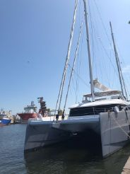 2019 Sunreef 80 sailing
