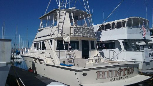 1986 Chris Craft Hatteras hull