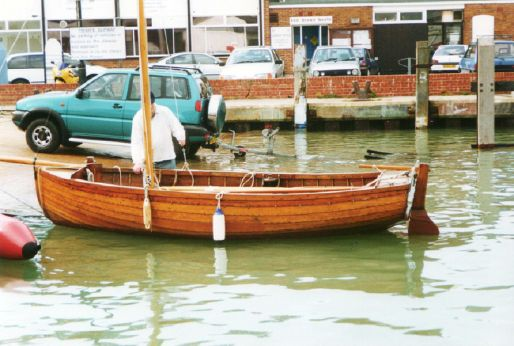 1931 Traditional Gunter rig dinghy