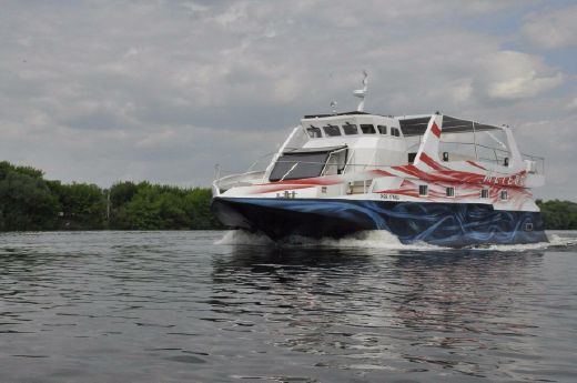 2015 Steel Diving Catamaran Meteor