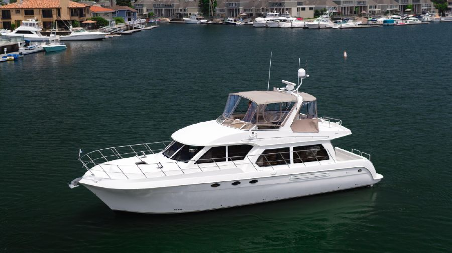 Navigator 5100 Pilothouse Yacht for sale in Huntington Beach