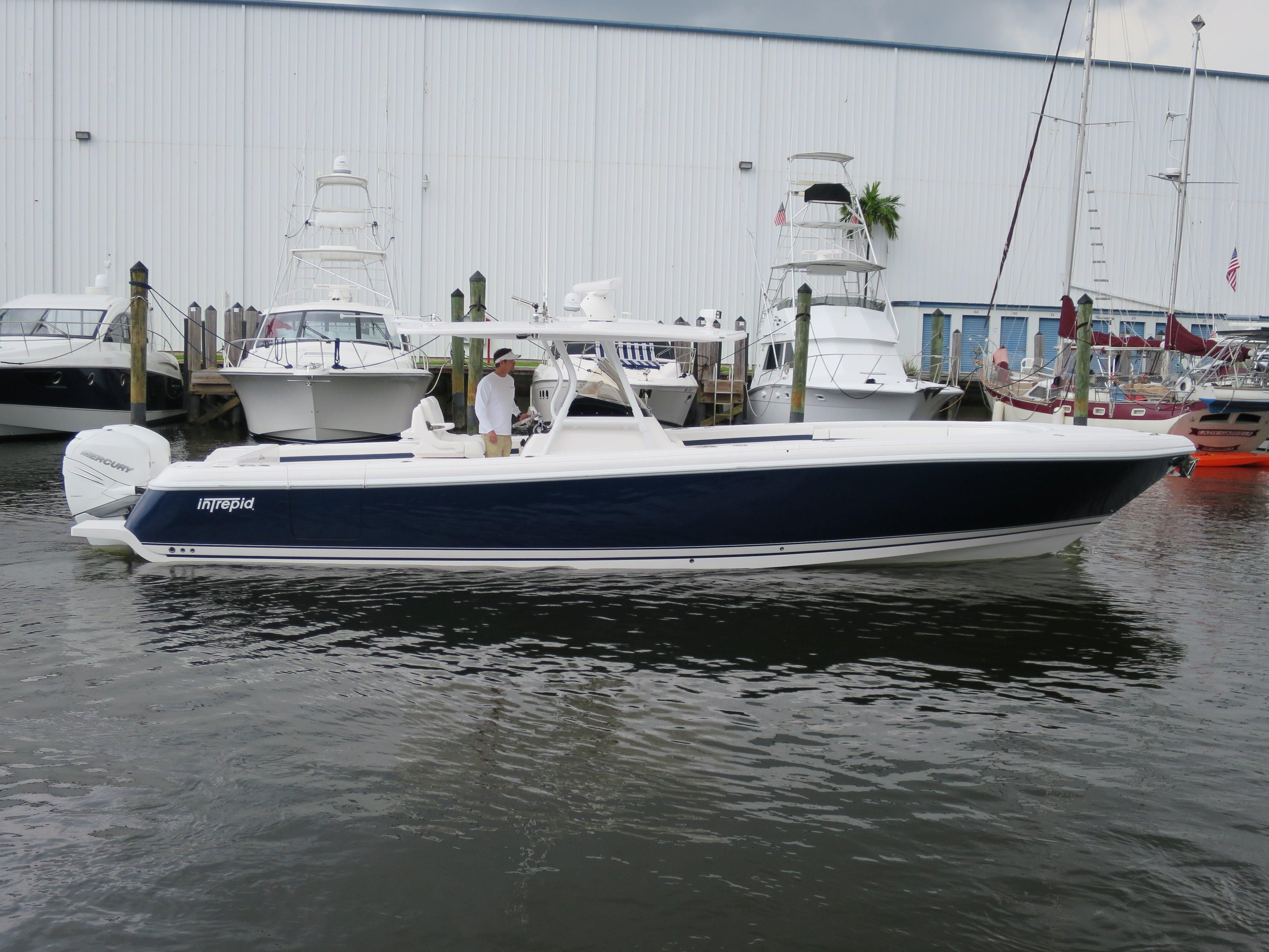2016 Intrepid 375 Center Console Power Boat For Sale Www