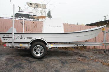 2017 Diablo Boat Works Flats Boat