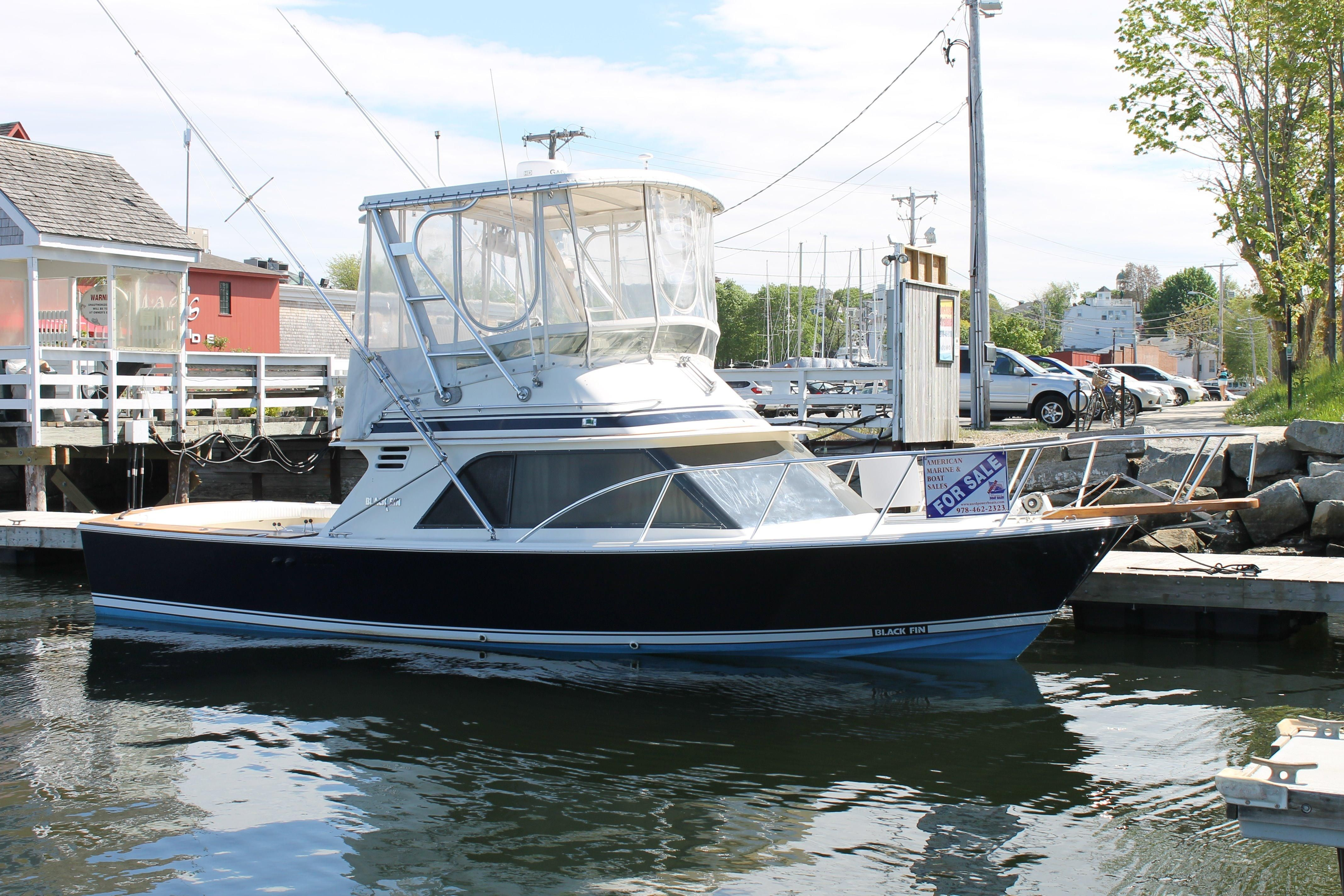 Carver Boats For Sale >> 1988 Blackfin 32 Flybridge Power Boat For Sale - www ...