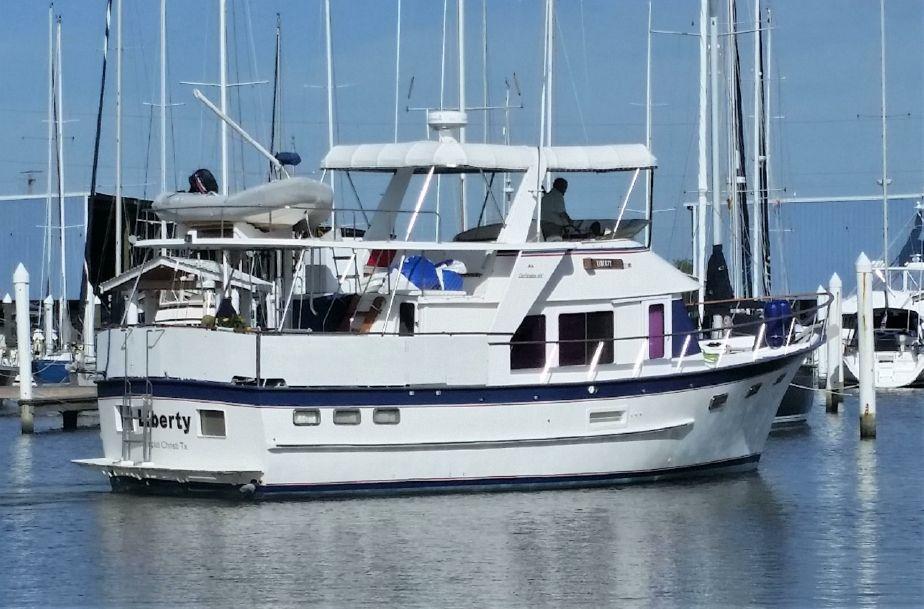 1985 DeFever 44 Trawler Power Boat For Sale - www yachtworld com