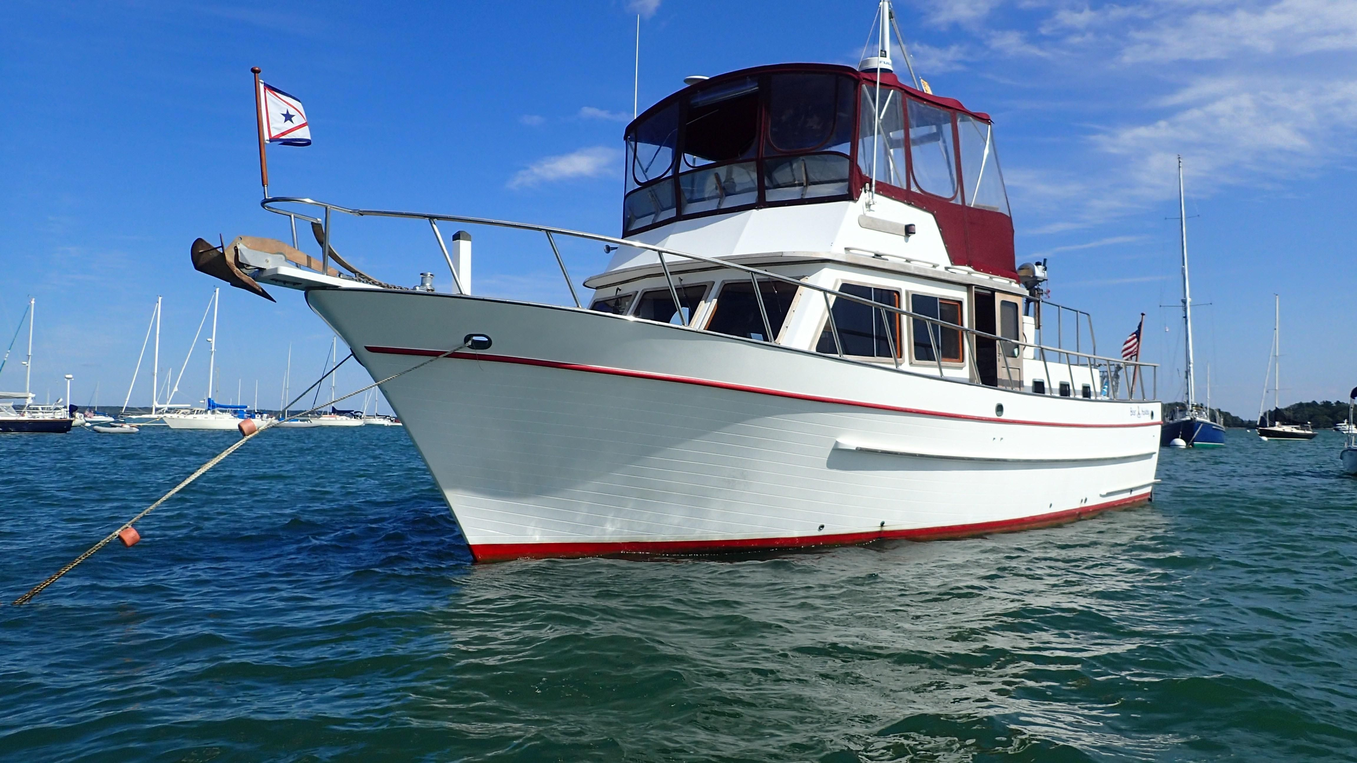 1987 DeFever 41 Trawler Power Boat For Sale - www ...