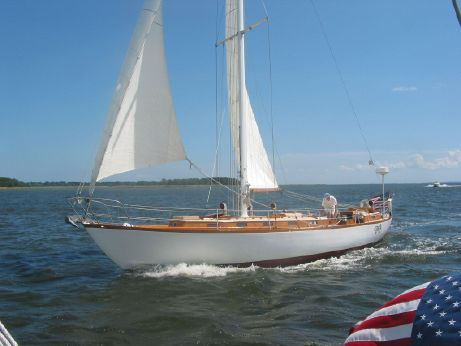 1962 Cheoy Lee Lapworth 50 Sloop