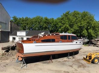 1951 Chris Craft Double Cabin 40