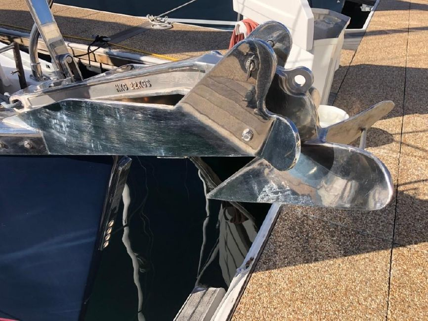 Catalina 470 Bow Anchor