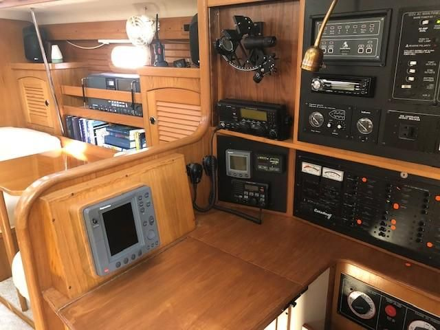 Catalina 470 Sailboat Nav Station
