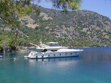1998 Ferretti Yachts 80