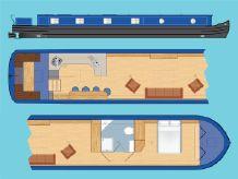 """2020 Wide Beam Narrowboat Tingdene Colecraft 66 x10'04"""""""