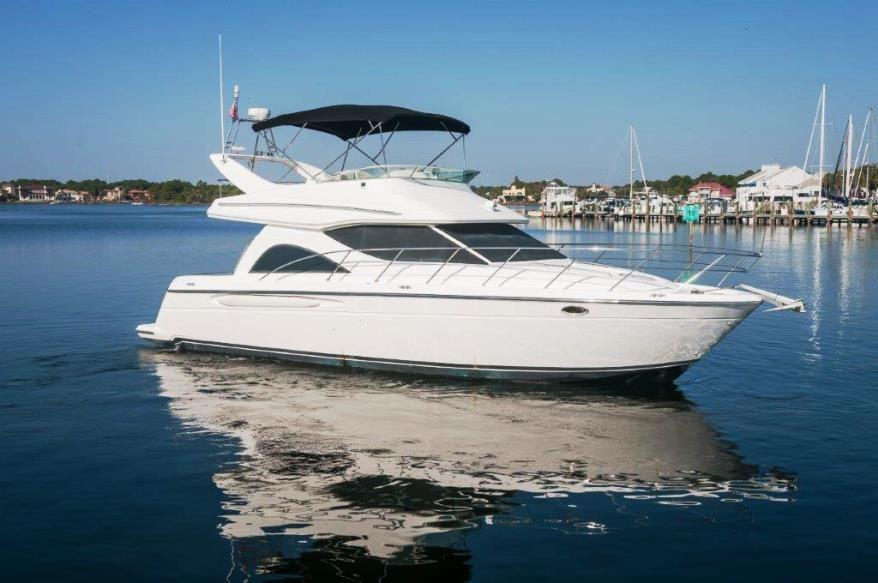 2002 maxum 41 sedan bridge power new and used boats for sale for Used boat motors panama city fl