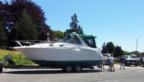 2001 Monterey 282 Cruiser Recent Engines