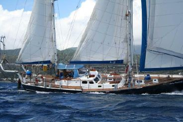 1997 Scott 62 World Cruiser Steel Ketch