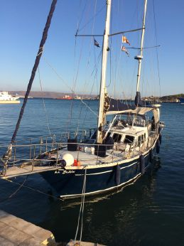 1994 Custom Swedish Steel Ketch