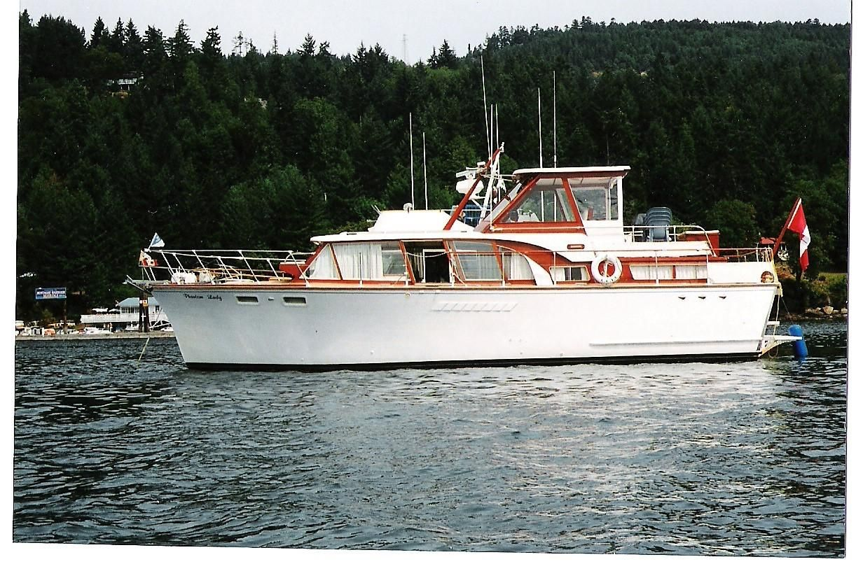Aluminum Boats For Sale Bc >> 1961 Richardson 43 DC Power Boat For Sale - www.yachtworld.com